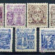 Sellos: 974/82** - MILENARIO DE CASTILLA 1944 (NUEVO SIN CHARNELA). Lote 11098078