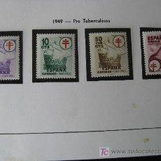 Sellos: 1949 PRO TUBERCULOSOS EDIFIL 1066/69. Lote 12217639
