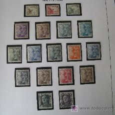 Sellos: 1949/53 CID Y GENERAL FRANCO EDIFIL 1044/61. Lote 26889460