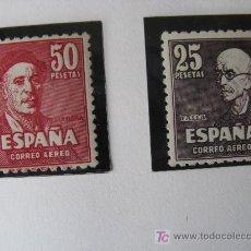 Sellos: 1947 FALLA Y ZULOAGA EDIFIL 1015/16. Lote 26549712