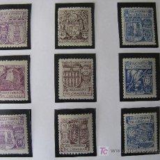 Sellos: 1944 MILENARIO DE CASTILLA EDIFIL 974/82. Lote 26889456