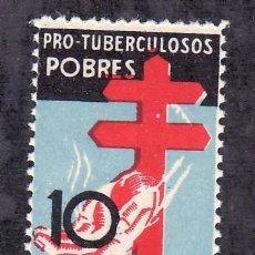 Sellos: ESPAÑA 840 SIN CHARNELA, VARIEDAD MAS ESTRECHO, PRO TUBERCULOSOS. Lote 15891707