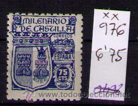 ESPAÑA 1944 - MILENARIO DE CASTILLA - EDIFIL Nº 976 - NUEVO (Sellos - España - Estado Español - De 1.936 a 1.949 - Nuevos)