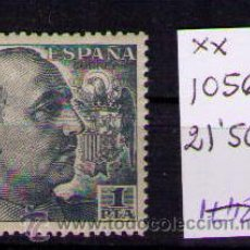Sellos: ESPAÑA 1949-1953 - GENERAL FRANCO - EDIFIL Nº 1056 NUEVO. Lote 24408028