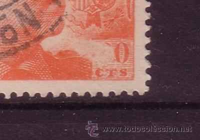 Sellos: ESPAÑA EDIFIL 1054 - AÑO 1949 - GENERAL FRANCO - 6 DE SESENTA CENTIMOS OMITIDO - Foto 2 - 17438229
