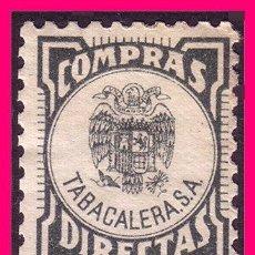 Sellos: COMPRAS DIRECTAS. TABACALERA *. Lote 20766919