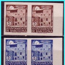 Sellos: BARCELONA 1943 CASA PADELLÁS, B2 EDIFIL Nº 42S A 46S (*). Lote 24699861