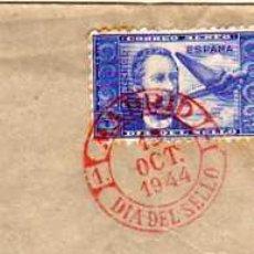Sellos: SOBRE POR AVION. DIA DEL SELLO 1944. CORREO AEREO.. Lote 29087746