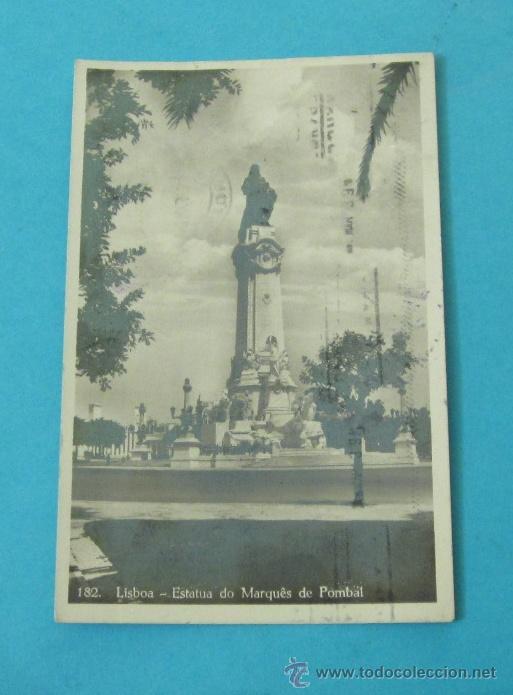 Sellos: POSTAL CIRCULADA ENTRE LISBOA Y VALENCIA. 1943. CON CENSURA GUBERNATIVA. VALENCIA DEL CID - Foto 2 - 29310996