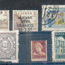 Sellos: LOTE DE FISCALES : AYTO BARCELONA, BOLSA 1,50- COLEGIO HUÉRFANOS CORREOS 1 PTAS 1943, AYTO BARCELONA. Lote 31174665