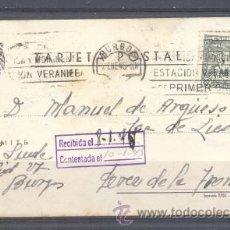 Sellos: 1945.- BURGOS A JEREZ DE LA FRONTERA. Lote 31798916