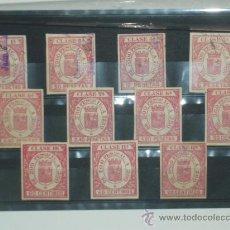 Sellos: FISCALES PARA EFECTOS DE COMERCIO. 11 VALORES, A FALTA DE LA 2ª CLASE. TIMBRES.. Lote 32246441