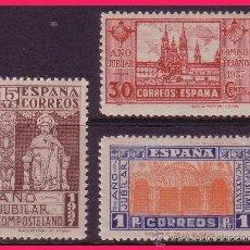 Sellos: 1937 AÑO JUBILAR COMPOSTELANO, EDIFIL Nº 833 A 835 * *. Lote 32474388