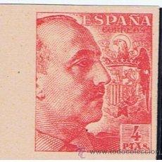 Francobolli: FRANCO ROJO 1940 SIN DENTAR EDIFIL 933 S NUEVO** VALOR 2012 CATALOGO 290.-- EUROS. Lote 174184183