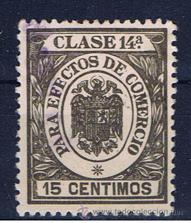 TIMBRE 0.15 PTS CLASE 14 PARA EFECTOS DE COMERCIO (Sellos - España - Estado Español - De 1.936 a 1.949 - Usados)