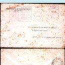 Sellos: 1949.- CARTA CON FRANQUEO MECANICO PUBLICITARIO DE TELEFONICA DE MADRID A STA. CRUZ DE LA PALMA.. Lote 35446051