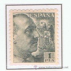 Sellos: FRANCO DENTADO GRUESO 1940 EDIFIL 930 NUEVO** . Lote 35585763