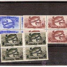 Sellos: SELLOS EDIFIL 1063-65 LXXV ANIVERSARIO DE LA UNION POSTAL UNIVERSAL 1949 . Lote 35646967