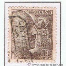 Sellos: FRANCO 1949 EDIFIL 1059. Lote 35674805