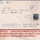 Sellos: 1939.-CARTA CON 1 SELLO DE FERNANDO AVION DE MADRID A PTO. DE LA LUZ. MARCAS JEFATURA DE INGENIEROS. Lote 35861137