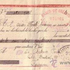 Sellos: BARCELONA. 1943. LETRA DE CAMBIO DE FALANGE REINTEGRADA CON SELLO FISCAL. MAGNÍFICA.. Lote 36128079