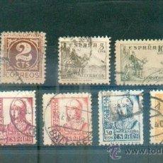 Sellos: CIFRAS, CID, ISABEL LA CATOLICA.- 1935 5/01 DENT 10 3/4 814/31 (NO ENTERA). Lote 135702618