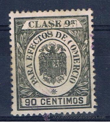 SELLO FISCAL 90 CTS PARA EFECTOS DE COMERCIO (Sellos - España - Estado Español - De 1.936 a 1.949 - Usados)