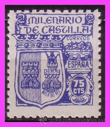 1944 MILENARIO DE CASTILLA, EDIFIL Nº 976 * * (Sellos - España - Estado Español - De 1.936 a 1.949 - Nuevos)