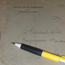 Sellos: FRANQUICIA DEL ARZOBISPADO DE TOLEDO.. Lote 37082540