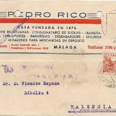 Sellos: MALAGA 1939 - PEDRO RICO. Lote 37620074