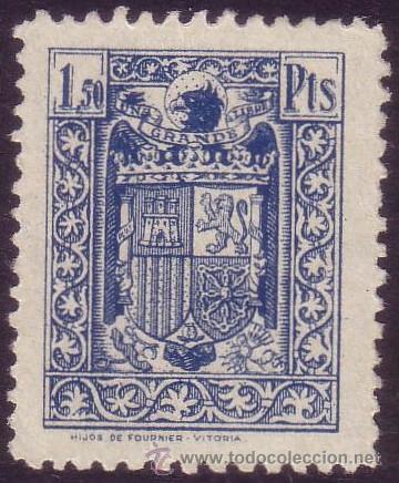 ESPAÑA. FISCAL. (*) 1,50 PTS. MAGNÍFICO. (Sellos - España - Estado Español - De 1.936 a 1.949 - Nuevos)
