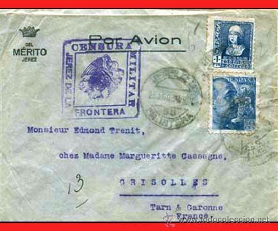 1938.- CARTA C. AEREO DELA EMPRESA