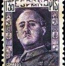Sellos: 1946.- VARIEDAD EN EL 1,35 PTS. DE FALTA DE IMPRESIÓN