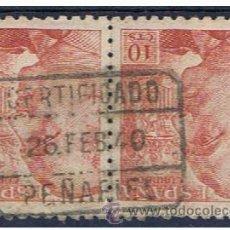 Selos: FRANCO DUO 1940 EDIFIL 920 FECHADOR PEÑAFIEL. Lote 38394237