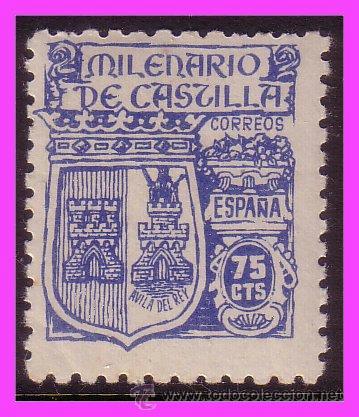 1944 MILENARIO DE CASTILLA EDIFIL Nº 976 * * (Sellos - España - Estado Español - De 1.936 a 1.949 - Nuevos)