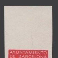 Sellos: 0008 AYUNTAMIENTO DE BARCELONA - PRUEBAS DE COLOR DE LOS MARCOS DE LA SERIE NO EMITIDA DE LA EFIGIE. Lote 40738742
