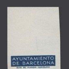 Sellos: 0008 AYUNTAMIENTO DE BARCELONA - PRUEBAS DE COLOR DE LOS MARCOS DE LA SERIE NO EMITIDA DE LA EFIGIE. Lote 40738759