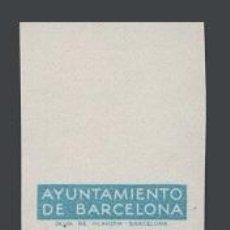 Sellos: 0008 AYUNTAMIENTO DE BARCELONA - PRUEBAS DE COLOR DE LOS MARCOS DE LA SERIE NO EMITIDA DE LA EFIGIE. Lote 40738770