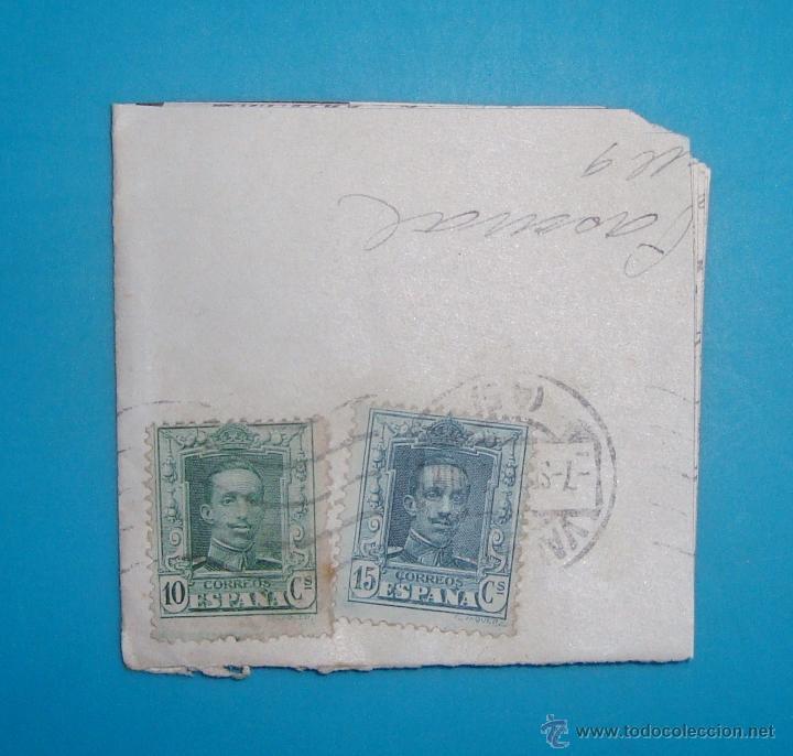 Sellos: LOTE DE 4 SOBRES Y 5 FRACCIONES CON SELLOS DE ESPAÑA DE 1922 A 1954 - Foto 2 - 41015621