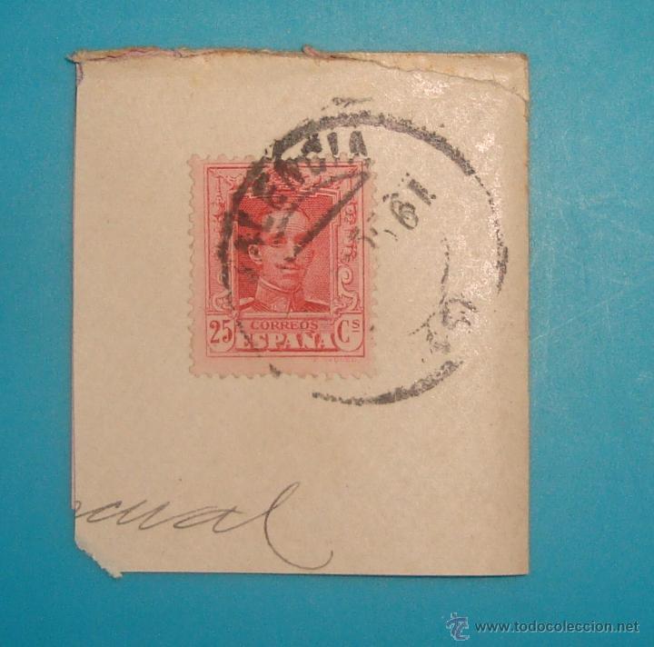 Sellos: LOTE DE 4 SOBRES Y 5 FRACCIONES CON SELLOS DE ESPAÑA DE 1922 A 1954 - Foto 3 - 41015621