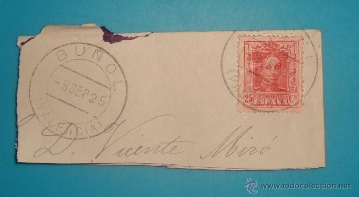 Sellos: LOTE DE 4 SOBRES Y 5 FRACCIONES CON SELLOS DE ESPAÑA DE 1922 A 1954 - Foto 4 - 41015621