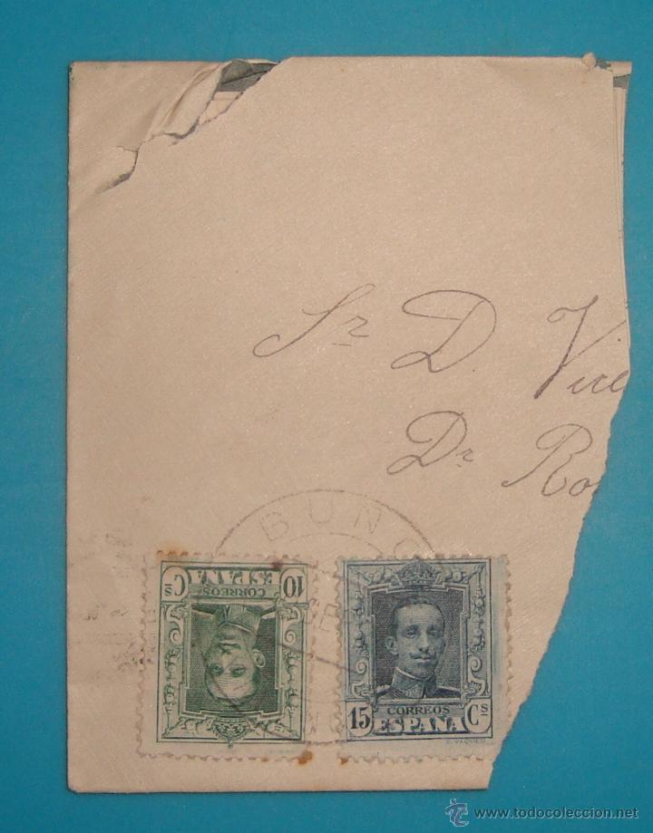 Sellos: LOTE DE 4 SOBRES Y 5 FRACCIONES CON SELLOS DE ESPAÑA DE 1922 A 1954 - Foto 5 - 41015621