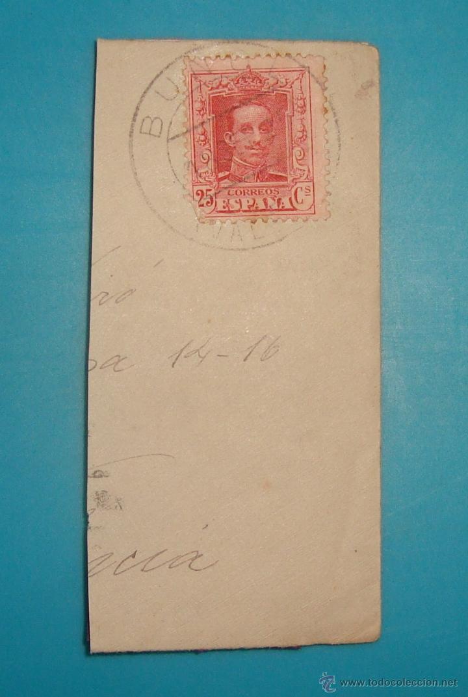 Sellos: LOTE DE 4 SOBRES Y 5 FRACCIONES CON SELLOS DE ESPAÑA DE 1922 A 1954 - Foto 6 - 41015621