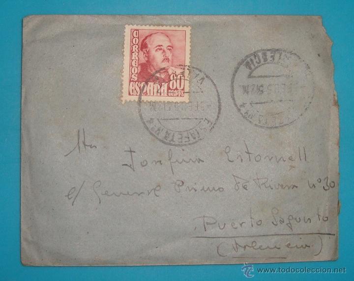 Sellos: LOTE DE 4 SOBRES Y 5 FRACCIONES CON SELLOS DE ESPAÑA DE 1922 A 1954 - Foto 8 - 41015621