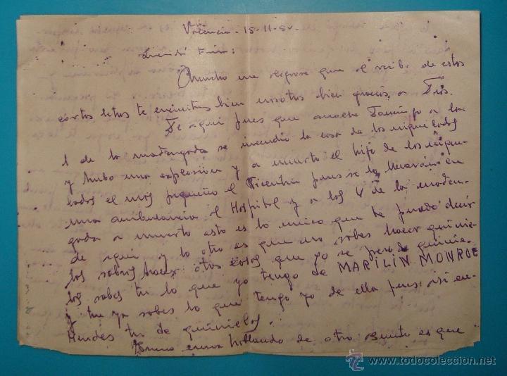 Sellos: LOTE DE 4 SOBRES Y 5 FRACCIONES CON SELLOS DE ESPAÑA DE 1922 A 1954 - Foto 9 - 41015621