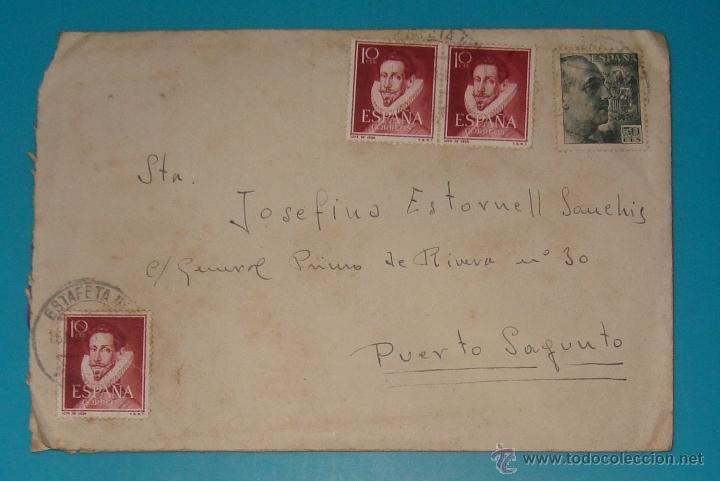 Sellos: LOTE DE 4 SOBRES Y 5 FRACCIONES CON SELLOS DE ESPAÑA DE 1922 A 1954 - Foto 10 - 41015621