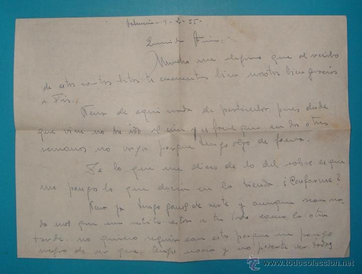 Sellos: LOTE DE 4 SOBRES Y 5 FRACCIONES CON SELLOS DE ESPAÑA DE 1922 A 1954 - Foto 12 - 41015621