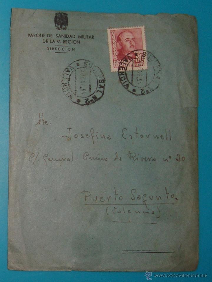 Sellos: LOTE DE 4 SOBRES Y 5 FRACCIONES CON SELLOS DE ESPAÑA DE 1922 A 1954 - Foto 13 - 41015621