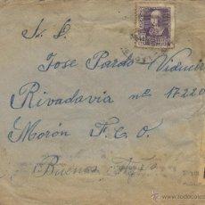 Sellos: CARTA CENSURA MILITAR LUGO MAT. RODILLO 1939 LUGO - BUENOS AIRES ( ARGENTINA CON LLEGADA VER DORSO . Lote 41246589