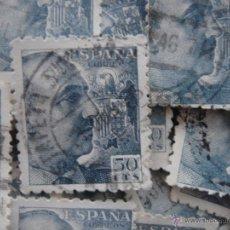 Sellos: CIEN SELLOS FRANCO DE CINCUENTA CÉNTIMOS. 50 CTS. IDEAL COLECCIONISTAS. SALUDOS.. Lote 42064357